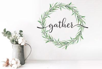 GATHER-WREATH